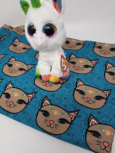 PreOrder Teal Swirl Kitty/large scale Tootsies