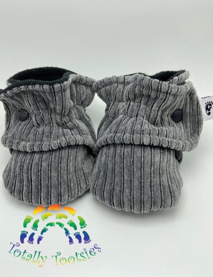 ***NEW*** PreOrder Grey Corduroy Tootsies