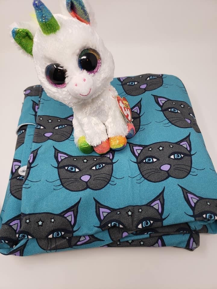 PreOrder Teal Kitty/large scale Tootsies