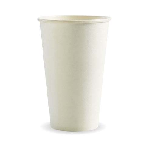Single Wall White BioCups