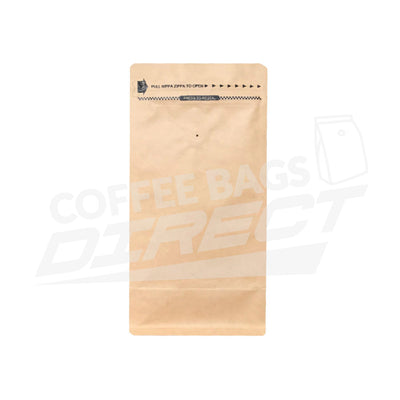 500g Rippa Zippa Box Bottom Bags (Short)