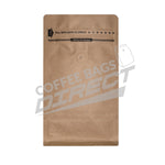 250g Rippa Zippa Box Bottom Coffee bag Customizable