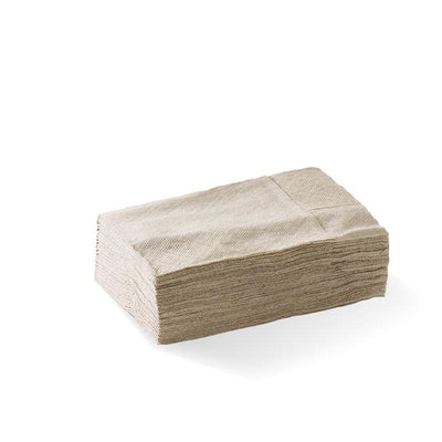 Natural - D-Fold Compact 1 Ply Dispenser BioNapkin