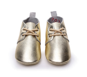 New style Genuine Leather Baby Moccasins Shoes - Chilly Baby