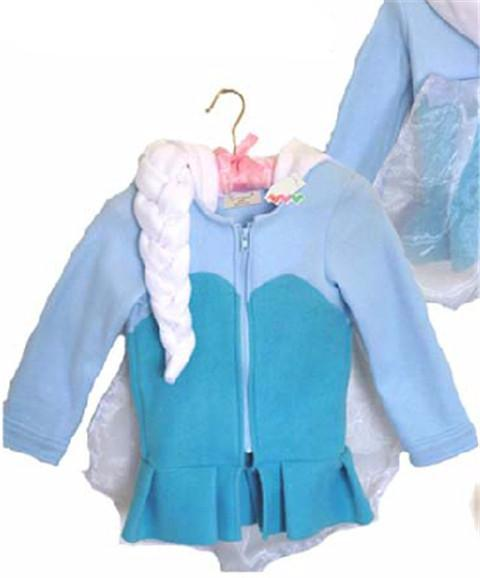 Warm Outerwear Coat For Girls - Chilly Baby