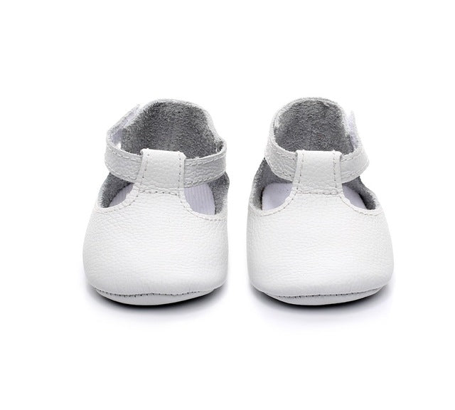 Handmade Genuine Leather Moccasins Shoes - Chilly Baby