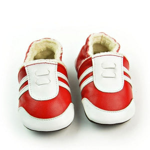 Cute Lovely Newborn Baby Genuine Leather Shoes - Chilly Baby