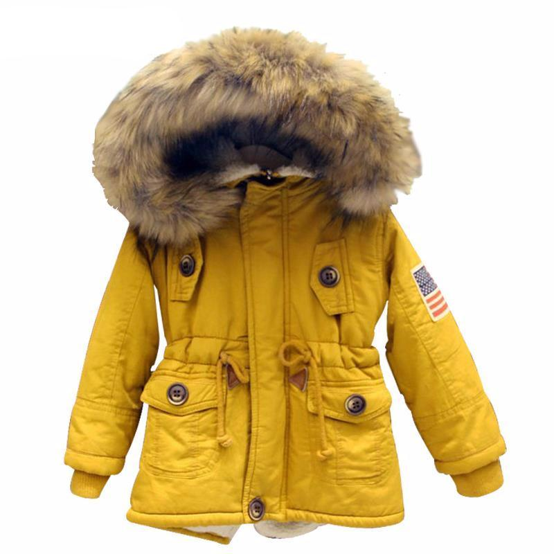 Girls USA flag hooded coat - Chilly Baby