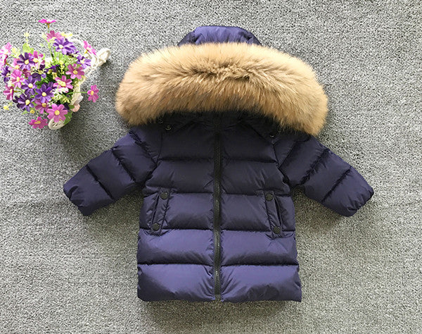 Girls Fur Down Jackets - Chilly Baby