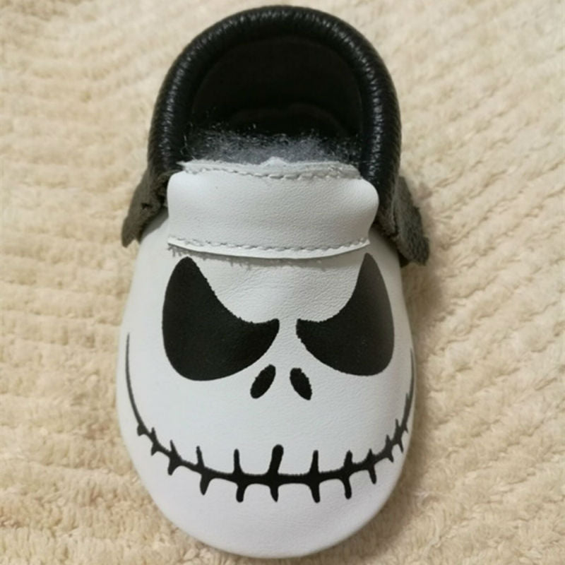 New Stylish Genuine Leather Baby Moccasins Shoes - Chilly Baby