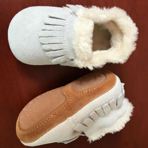 New style Genuine Leather Baby shoes - Chilly Baby