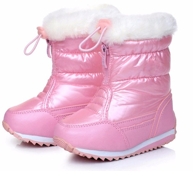 Candy Color Girls Snow Boots - Chilly Baby