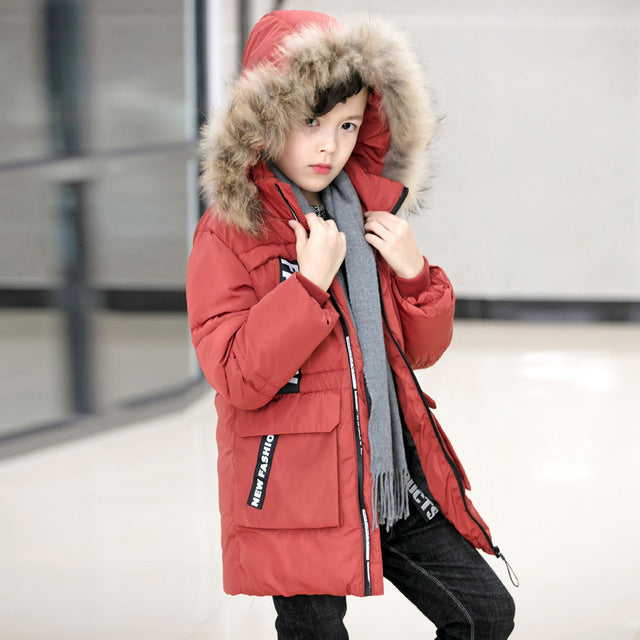 Winter Jacket For Boys - Chilly Baby