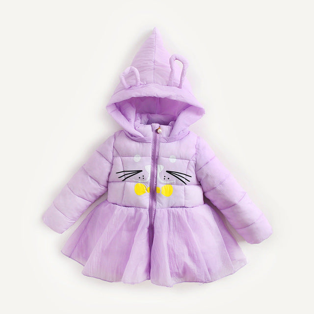 Top Quality Winter Girls Jackets - Chilly Baby