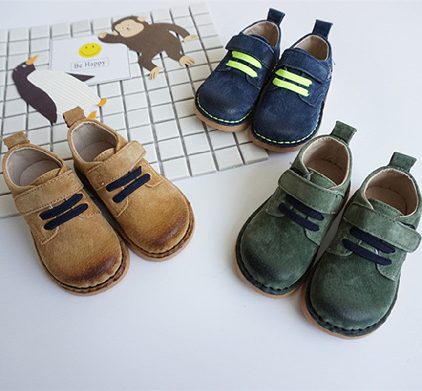 Genuine Leather casual shoes for Children - Chilly Baby