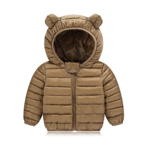 Warm Hooded Outerwear Coat Jackets For Boys - Chilly Baby
