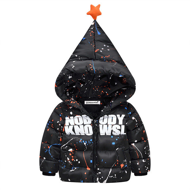 Hooded Outerwear Jacket For Boys - Chilly Baby