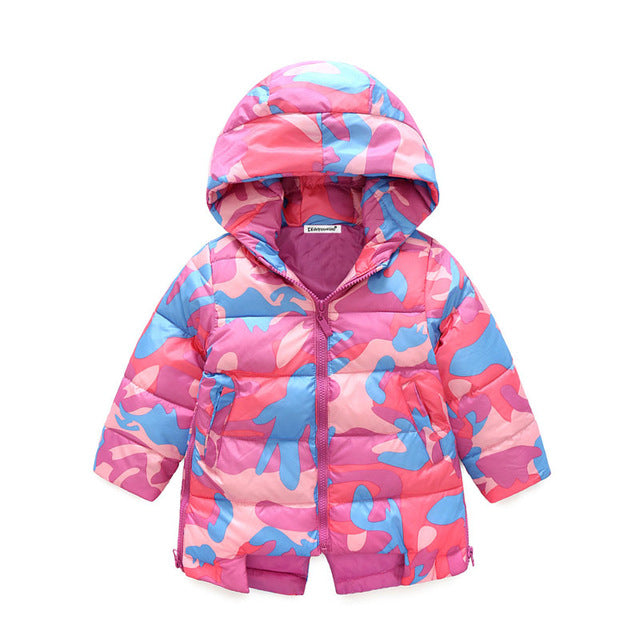 High Quality Girls Down Coats - Chilly Baby