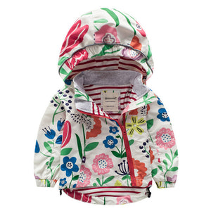 Windbreakers Jacket For Girls - Chilly Baby