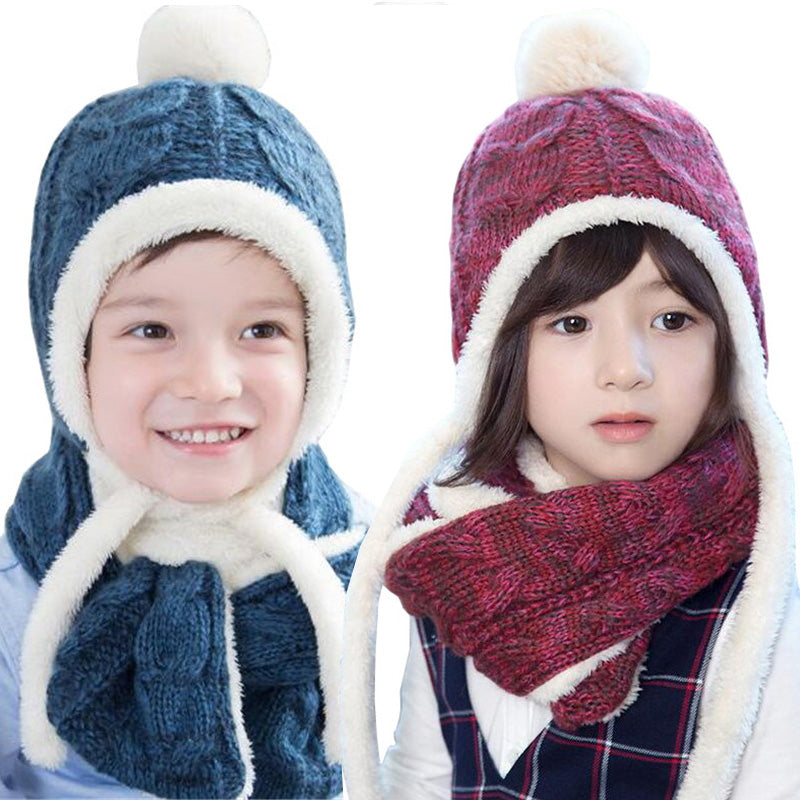 Winter Children Cap Scarf sets - Chilly Baby