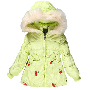 Cotton-padded Jacket For Girls - Chilly Baby