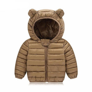 Boys Warm Hooded Outerwear Coat - Chilly Baby