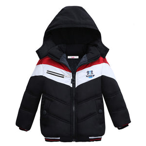 Winter Warm Cotton-Padded Jacket For Boys - Chilly Baby