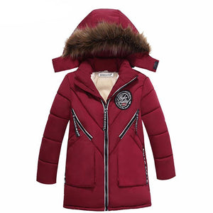 Thicken Cotton-Padded Jacket For Boys - Chilly Baby