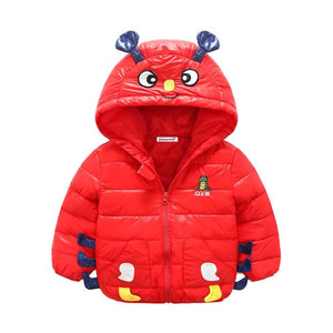 Warm Outerwear Coat For Girls Boys - Chilly Baby