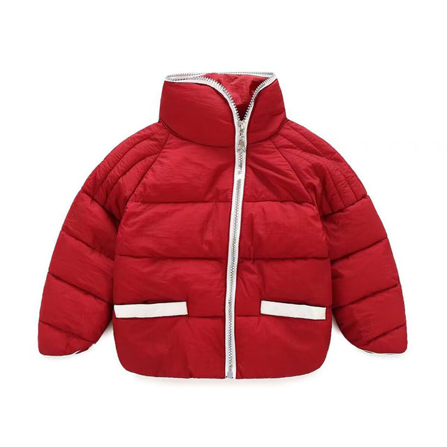 Boys Warm Cotton Outerwear Jacket - Chilly Baby
