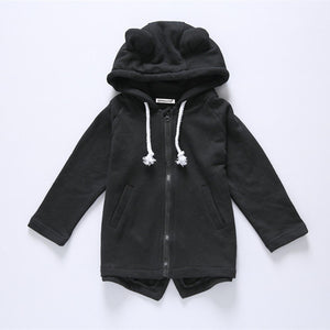 Kids Hooded Outerwear Coat - Chilly Baby