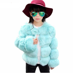 Girls faux fur coat - Chilly Baby
