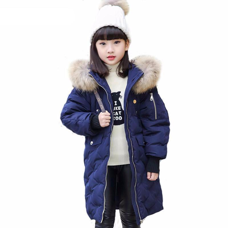 Warm Kids Down Jacket For Girl - Chilly Baby