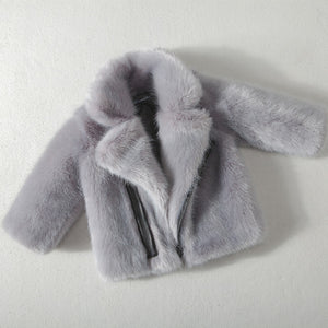 Top Quality Girls Faux Fur Coat - Chilly Baby