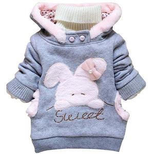 Girls Rabbit Coat - Chilly Baby
