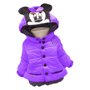 Infant Girls Cotton-Padded Jacket - Chilly Baby