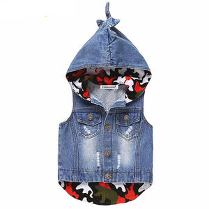 Denim Vest For Girls - Chilly Baby