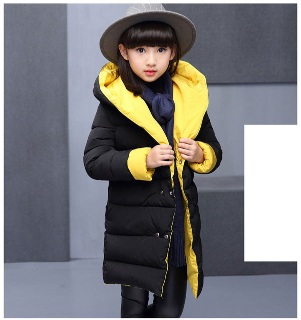 Long Parkas Jacket Girls Jacket - Chilly Baby