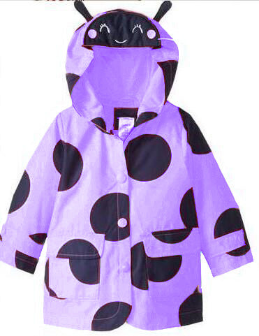 Girls Raincoat Coat - Chilly Baby