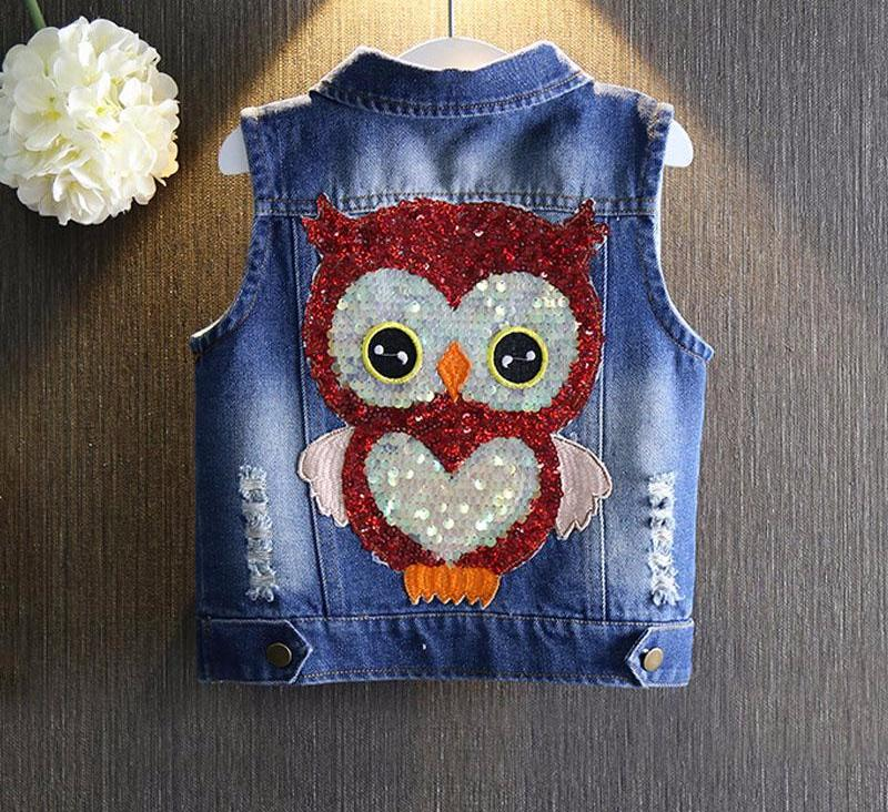 Denim Vest Cowboy For Girls - Chilly Baby