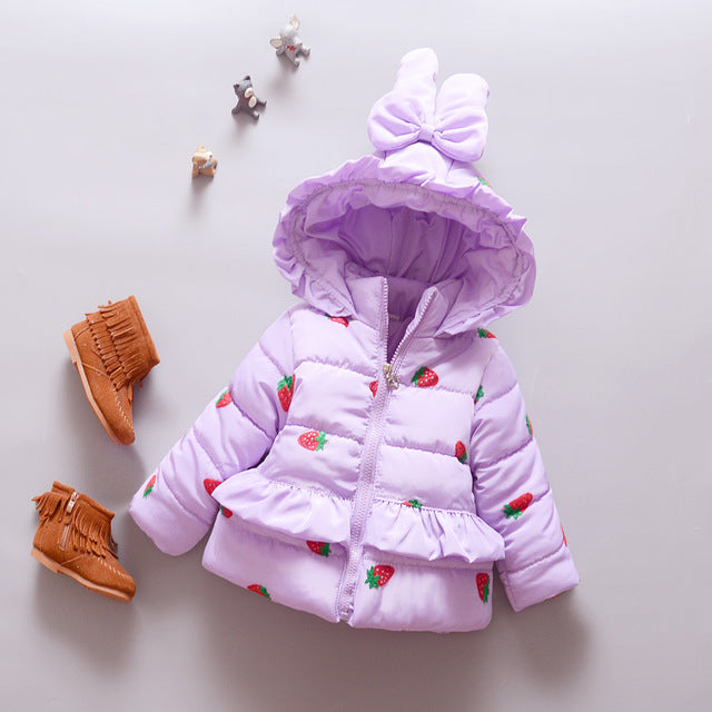 Winter Jacket For Girls - Chilly Baby