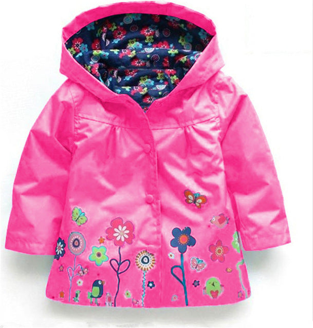 Winter Trench Girls Jacket - Chilly Baby