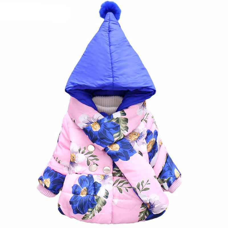 Floral Print Jackets For Girls - Chilly Baby