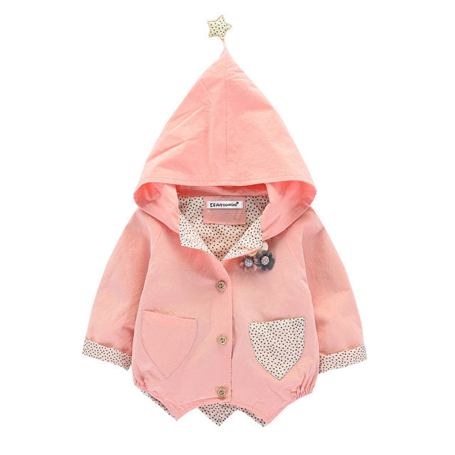 Infant Girls Trench Coat - Chilly Baby