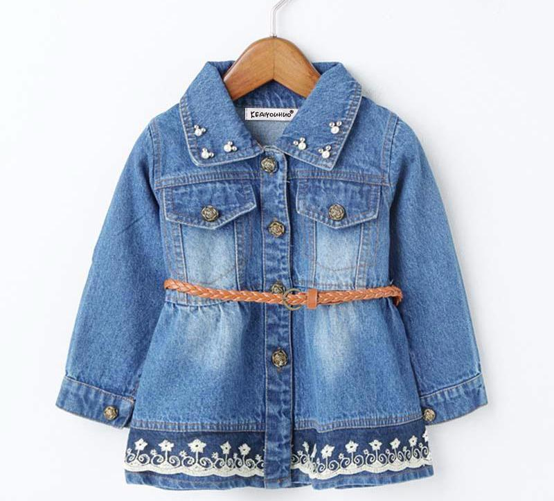 Denim Jacket For Girls - Chilly Baby