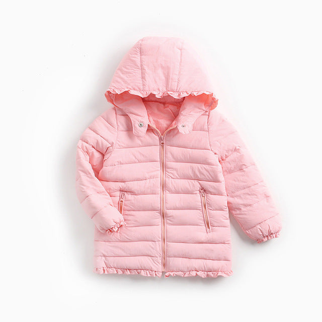 Down Jacket For Girls - Chilly Baby