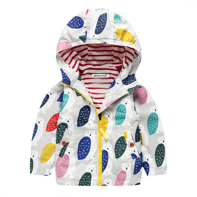 Trench Jacket For Girls - Chilly Baby