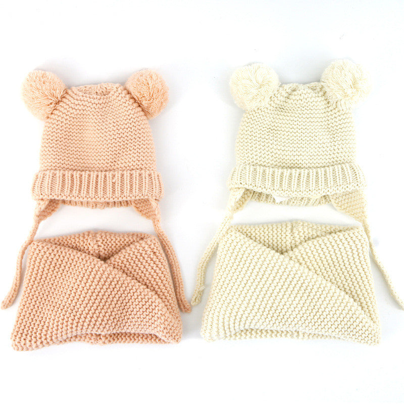 New Fashion Baby Hat Scarf set - Chilly Baby