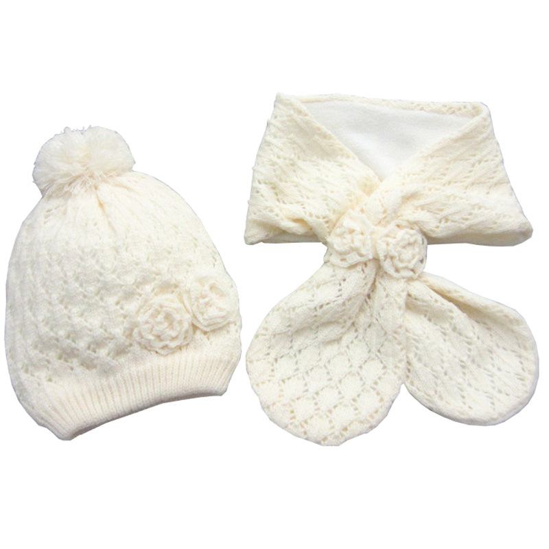 Top Fashion Flower Infant Hats set - Chilly Baby