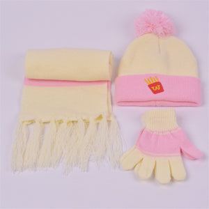 Cartoon Baby Hats Sets - Chilly Baby